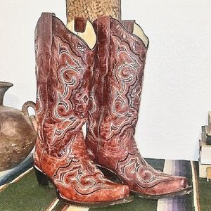 'Corral' Ladie's Leather Boots
